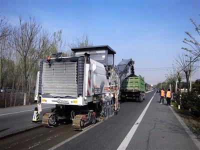 枣庄张林沙窝子村路大修工程