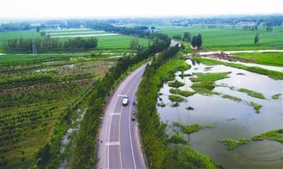 邹城市唐村镇村道交通安全设施防护工程邹城市唐村镇西龙河道路改造工程