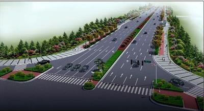 高新区和顺路至广安路道路绿化工程