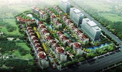 平阴县锦水街道大佛寺社区城中村改造住宅楼
