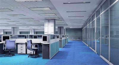 唐冶办公区吊顶矿棉板更换工程