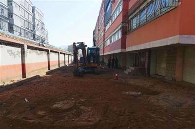 天津信和园小区负一层提升改造工程