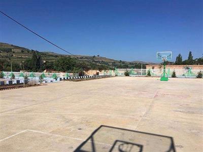 佛山市新建独树岗村北部篮球场及公厕工程