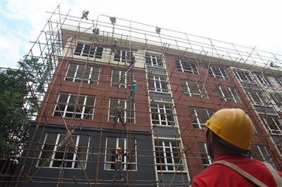 天津市双桥示范镇一期还迁房维修工程