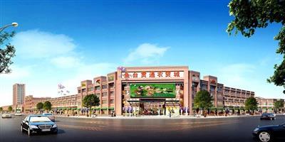 鱼台贯通农贸城项目乐动体育官网