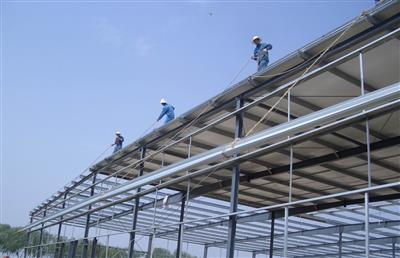 北京同仁堂济宁温泰和钢结构工程