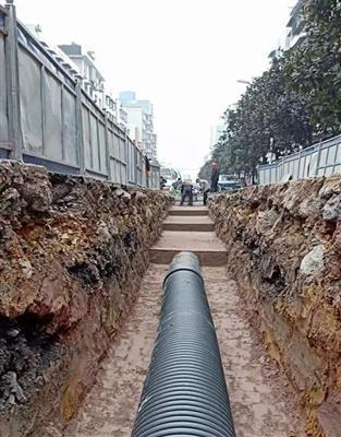 巨野县田桥镇下水道改造工程